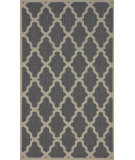 RugStudio presents Nuloom Machine Made Trellis Outdoor Grey Machine Woven, Good Quality Area Rug