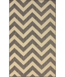 RugStudio presents Nuloom Machine Made Chevron Outdoor Grey Machine Woven, Good Quality Area Rug