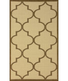 RugStudio presents Nuloom Machine Made Double Trellis Taupe Machine Woven, Good Quality Area Rug