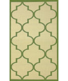 RugStudio presents Nuloom Machine Made Double Trellis Green Machine Woven, Good Quality Area Rug
