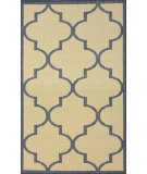 RugStudio presents Nuloom Machine Made Double Trellis Blue Machine Woven, Good Quality Area Rug