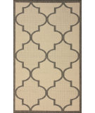 RugStudio presents Nuloom Machine Made Double Trellis Grey Machine Woven, Good Quality Area Rug