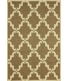 RugStudio presents Nuloom Machine Made Minnie Outdoor Trellis Taupe Machine Woven, Good Quality Area Rug