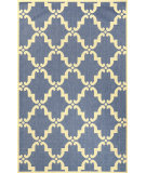 RugStudio presents Nuloom Machine Made Minnie Outdoor Trellis Blue Machine Woven, Good Quality Area Rug