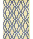 RugStudio presents Nuloom Machine Made Angie Outdoor Lattice Blue Machine Woven, Good Quality Area Rug