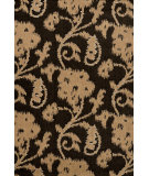 RugStudio presents Nuloom Machine Made Floral Santiago Charcoal Machine Woven, Good Quality Area Rug