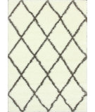 RugStudio presents Nuloom Machine Made Trellis Shag Brown Machine Woven, Better Quality Area Rug