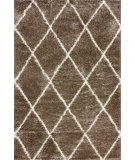 RugStudio presents Nuloom Machine Made Trellis Shag Tawny Area Rug