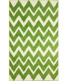 RugStudio presents Nuloom Machine Made Ziggy Shag Green Machine Woven, Good Quality Area Rug