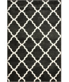 RugStudio presents Nuloom Machine Made Strong Trellis Grey Machine Woven, Good Quality Area Rug
