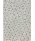 RugStudio presents Nuloom Machine Made Casablanca Shag Light Grey Area Rug