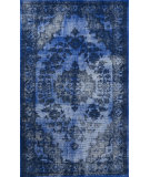 RugStudio presents Nuloom Hand Knotted Zora Blue Hand-Knotted, Good Quality Area Rug