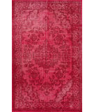 RugStudio presents Nuloom Hand Knotted Zora Pink Hand-Knotted, Good Quality Area Rug