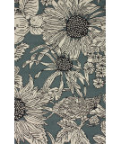 RugStudio presents Nuloom Hand Tufted Sunflower Slate Hand-Tufted, Good Quality Area Rug