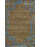 RugStudio presents Nuloom Hand Tufted Marco Polo Brown Hand-Tufted, Good Quality Area Rug