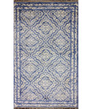 RugStudio presents Nuloom Hand Knotted Shavonda Blue Hand-Knotted, Good Quality Area Rug