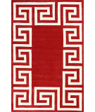 RugStudio presents Nuloom Hand Tufted Santorini Red Hand-Tufted, Good Quality Area Rug