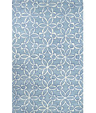 RugStudio presents Nuloom Hand Tufted Clemintina Blue Hand-Tufted, Good Quality Area Rug