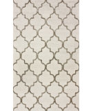 RugStudio presents Nuloom Hand Tufted Park Avenue Trellis Nickel Hand-Tufted, Good Quality Area Rug