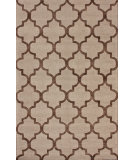 RugStudio presents Nuloom Hand Tufted Park Avenue Trellis Cocoa Hand-Tufted, Good Quality Area Rug