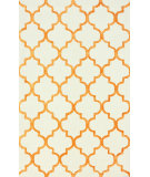 RugStudio presents Nuloom Hand Tufted Park Avenue Trellis Tangerine Hand-Tufted, Good Quality Area Rug