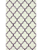 RugStudio presents Nuloom Hand Tufted Park Avenue Trellis Violet Hand-Tufted, Good Quality Area Rug