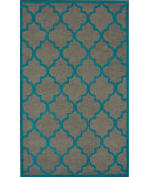 RugStudio presents Nuloom Hand Tufted Posh Trellis Grey Hand-Tufted, Good Quality Area Rug