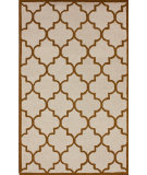 RugStudio presents Nuloom Hand Tufted Posh Trellis Butternut Hand-Tufted, Good Quality Area Rug