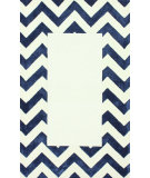 RugStudio presents Nuloom Hand Tufted Perry Navy Hand-Tufted, Good Quality Area Rug