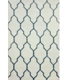 RugStudio presents Nuloom Hand Knotted Maurice Silver Hand-Knotted, Good Quality Area Rug