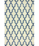 RugStudio presents Nuloom Hand Tufted Brook Blue Hand-Tufted, Good Quality Area Rug