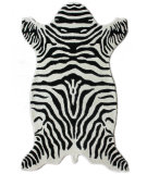 RugStudio presents Nuloom Hand Tufted Mountain Zebra White Hand-Tufted, Better Quality Area Rug