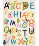 RugStudio presents Nuloom Hand Tufted Alphabet Multi Hand-Tufted, Good Quality Area Rug