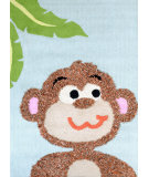 RugStudio presents Nuloom Hand Tufted Monkey Ralph Multi Hand-Tufted, Good Quality Area Rug