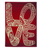 RugStudio presents Nuloom Hand Tufted L-O-V-E Red Hand-Tufted, Good Quality Area Rug