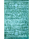 RugStudio presents Nuloom Hand Tufted Marcos Blue Hand-Tufted, Good Quality Area Rug