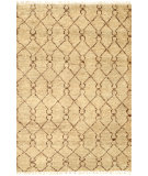 RugStudio presents Nuloom Hand Knotted Rosemarie Gold Hand-Knotted, Good Quality Area Rug