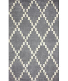 RugStudio presents Nuloom Hand Tufted Olga Grey Hand-Tufted, Good Quality Area Rug