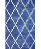 RugStudio presents Nuloom Hand Tufted Olga Blue Hand-Tufted, Good Quality Area Rug