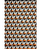 RugStudio presents Nuloom Hand Tufted Olga Orange Flat-Woven Area Rug