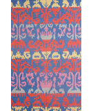 RugStudio presents Nuloom Hand Hooked Peggy Blue Hand-Hooked Area Rug