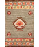 RugStudio presents Nuloom Hand Tufted Shyla Green Hand-Tufted, Good Quality Area Rug