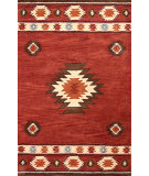 RugStudio presents Nuloom Hand Tufted Shyla Wine Hand-Tufted, Good Quality Area Rug