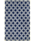 RugStudio presents Nuloom Hand Tufted Ramiro Dark Blue Hand-Tufted, Good Quality Area Rug