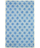 RugStudio presents Nuloom Hand Tufted Ramiro Light Blue Hand-Tufted, Good Quality Area Rug
