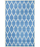 RugStudio presents Nuloom Hand Tufted Guillermo Light Blue Hand-Tufted, Good Quality Area Rug
