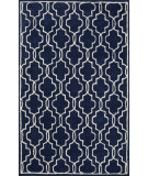 RugStudio presents Nuloom Hand Tufted Katie Dark Blue Hand-Tufted, Good Quality Area Rug