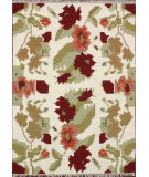 RugStudio presents Nuloom Flatweave Floral Notion Natural Flat-Woven Area Rug