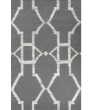 RugStudio presents Nuloom Flat Woven Darby Grey Flat-Woven Area Rug
