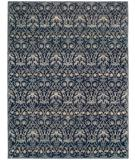 RugStudio presents Obeetee Fresco Lystre 2753024 Navy Blue Hand-Tufted, Best Quality Area Rug